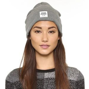 🆕 Opening Ceremony Grey Logo Knit Beanie